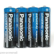 100 x Panasonic AA Batterien Mignon Zink Carbon R6 lose - eingeschweißt NEU