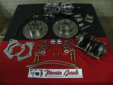 "1965-68 Chevy Impala Performance Disc Brakes & 8"" Dual Chrome Power Brake Unit"
