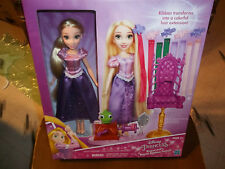 Disney Princess Rapunzel's Royal Ribbon Salon Doll New