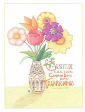 Mary Engelbreit-Gratitude Can Turn Common Days Into Thanksgiving-Note Card-New!