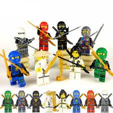 8pcs Lego Ninjago Figure Ninjago Mini Figure Lloyd Kai Zane Silah Pythor Party