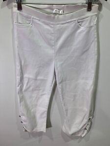 Filo 3/4 Pants - Size 10 - White