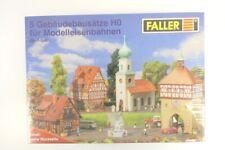 (KNM299) Faller H0 Dorf (5 Gebäudebausätze) OVP