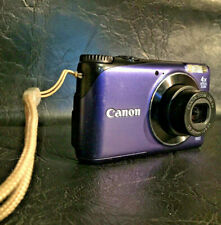 CANON POWERSHOT A2200 HD 14.1MP DIGITAL CAMERA 4X OPTICAL ZOOM WITH BOX ETC.