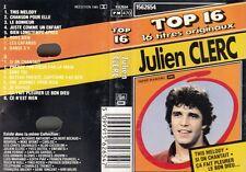 "K 7 AUDIO TAPE  JULIEN CLERC   ""TOP 16 """