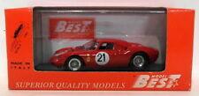 Modellini statici auto rosso Best