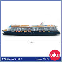 Siku Super 1724 1:1400 Mein Schiff 3 Metal Diecast Model Collect Ships Gift Toys