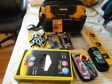 Hvac Refrigeration Manifol Psi Gages And Digital Tools Lot Mix.