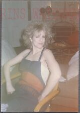Vintage 1980s Photo Pretty Girl w/ Big Hair & Lobster Apron 744438