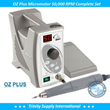Micromotor Complete Set OZ Plus 50,000 RPM Dental Laboratory. Heavy-Duty