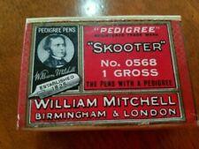 "Vintage WILLIAM MITCHELL PEDIGREE ""SKOOTER"" DIP NIBS"