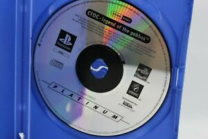 CROC LEGEND OF THE GOBBOS PS1 GAME DISC ONLY - PAL - FREE POSTAGE