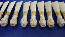10 high quality bassoon reed blanks from Silvacane  cane R2 /dukov_reeds SaR2/