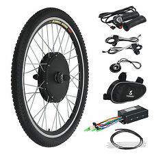 "E Bike Kit front wheel for Adult Trike - 20"" - No battery - Extras"