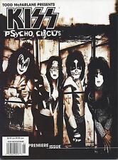 IMAGE TODD McFARLANE KISS PSYCHO CIRCUS MAGAZINES ISSUES #1-5