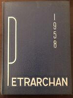1958 Petrarchan Yearbook St. Peters High School - Mansfield, Ohio (OH)