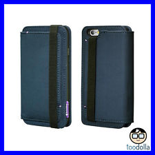 SWITCHEASY Life Pocket Wallet case with card/cash storage iPhone 6/6s, Navy Blue