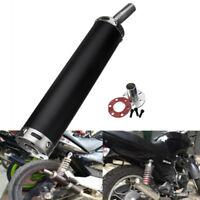 Universel Silencieux Pot d'échappement Amortisseur 2 Course Moteur metal Moto
