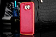 Fundas y carcasas metálicas de color principal rojo para teléfonos móviles y PDAs Samsung
