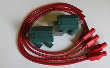 Suzuki Katana 3 Ohm bobinas de ignición Dyna Rendimiento y Rojo Taylor conduce.