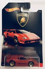 Hot Wheels Toy Car 🚗 - New Red Lamborghini Countach LP500 BNIB