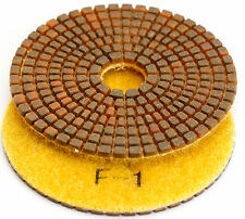 4 Inch WET/DRY Diamond Polishing Pad Position 1 New Technology Granite Concrete
