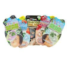 Face Sheet Mask Spa Pamper Mud Clay Charcoal By 7th Heaven All Skin Types