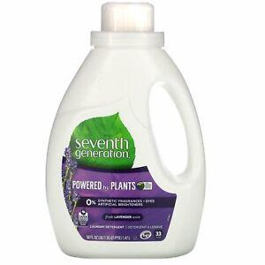 Laundry Detergent, Lavender, 50 fl oz (1.47 l)