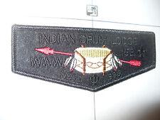 OA Indian Drum Lodge 152, F-6,1996 NOAC BLK Felt Flap,25,79,401,Scenic Trails,MI