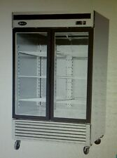 Atosa Mcf8703 Two Door Reach-In Merchandiser Freezer