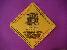 Beer Coaster: Boddingtons Lass O'Gowrie Manchester England 200 Years 1778