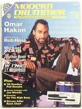 MODERN DRUMMER MAGAZINE OMAR HAKIM ROB HIRST MICHAEL BLAIR STEVEN ADLER RARE '89