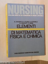 ELEMENTI DI MATEMATICA FISICA E CHIMICA Eugenio Giachetti Simonetta Klein di e