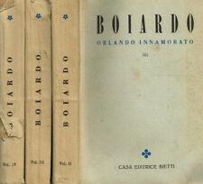 L'ORLANDO INNAMORATO VOL.II III IV. . 1929. .