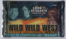 WILD WILD WEST - 1 Unopened Packet - SKYBOX TRADING CARDS 1999