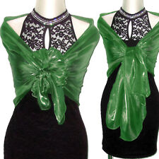 Stola verde coprispalle sciarpa scialle cerimonia elegante art. D0241