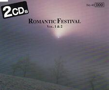 ROMANTIC FESTIVAL VOLS 1 & 2 - 2 CD SET (1992) SMETANA ADDINSELL SAINT-SAENS ETC