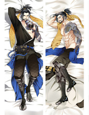 Overwatch OW Shimada Hanzo Dakimakura Pillow Bedding Hugging Body Cover Cushion
