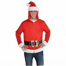 Adults Christmas Fancy Dress Santa Hoodie