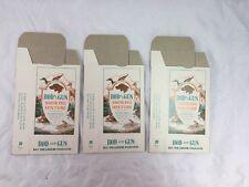 Vintage Old Rod and Gun Smoking Mixture Box NOS John Weisert Tobacco Co Lot of 3