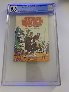 Star Wars: Clone Wars Adventures #7 - CGC 9.8 - Only Copy on Census