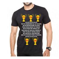 Allez Allez Allez Lyrics T-Shirt - 2019 Final YNWA
