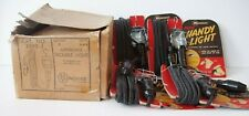 Four Vintage Monowatt Auto Handy Lights Never Removed from Cards with orig. box