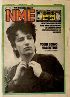 NME Music Magazine 14 February 1981 U2, New Order, Elvis Costello, Abba