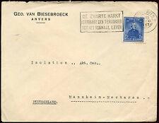 Belgium 1947 Cover To Germany #C19162