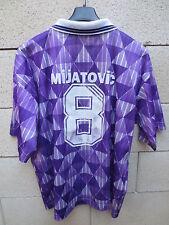 VINTAGE Maillot REAL MADRID camiseta TEKA away violet MIJATOVIC n°8 shirt XL
