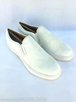 ZARA LEATHER FUR SKIN SLIP ON CASUAL FLAT SHOES SNEAKERS TRAINERS SIZE 40_41