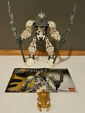 100% Complete & Retired Lego Bionicle Stars Takanuva (7135) w/ Instruct Manual