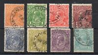 Australia 1926-30 Sideface set to 1s 4d perf 14 FU CDS