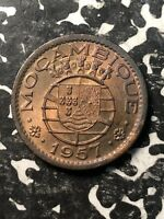 1957 Mozambique 50 Centavos (4 Available) High Grade! Beautiful! (1 Coin Only)
